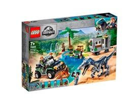 75935 - LEGO® Jurassic World™ - Baryonyxs Kräftemessen: die Schatzsuche:   Mach dich bereit für dramatische Szenen, wenn du mit Owen Grady und Claire D