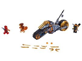 "70672 - LEGO® NINJAGO - Coles Offroad-Bike:   Stürz dich mit dem LEGO®NINJAGO® Set ""Coles Offroad-Bike"" (70672) für Junge"