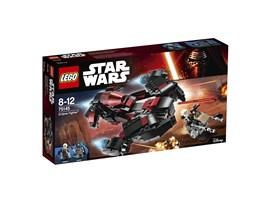 75145 LEGO® Star Wars™ Eclipse Fighter:   Lass Naare in den Eclipse Fighter steigen und triff dich mit dem Kopfgeldjäg