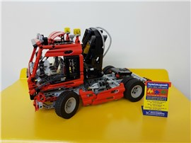 "Pneumatic Truck 8436:   Fertiges Lego Modell von LEGO®    ""Pneumatic Truck A von Lego Technic 843"
