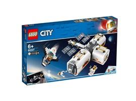 60227 - LEGO® City - Mond Raumstation:   Kleine Weltraumforscher werden von dieser modularen Spielzeug-Raumstation be