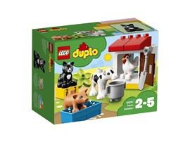 10870 LEGO® DUPLO® Tiere auf dem Bauernhof:   Kleine Tierfreunde werden viel Spaß mit den verschiedenen Bauernhoftieren er