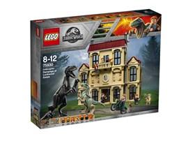 75930 LEGO® Jurassic World™ Indoraptor-Verwüstung des Lockwood Anwesens:   Diesem detailreichen Set diente Jurassic World™ als Vorbild, damit du spanne