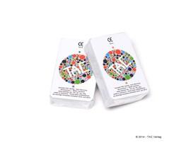 Kartenset für 'Das kleine TAC', deutsch:   Komplettes Set, wie es beim Spiel mitgliefert wird.      Eigens erstellt