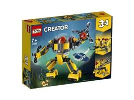 31090 LEGO® Creator Unterwasser-Roboter:   Tauche mit diesem tollen Unterwasser-Roboter hinab bis auf den Meeresboden u