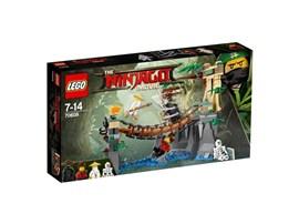 70608 LEGO® NINJAGO Meister Wu's Wasser-Fall*:   Mach dich auf ein spannendes Kräftemessen gefasst, das Wu und der böse Garma