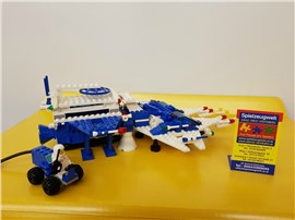 """Raumschiff 6980:   Fertiges Lego Modell von LEGO®    """"Raumschiff 6980""""    Modell 55"""