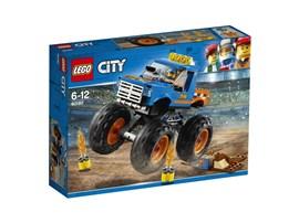 60180 LEGO® City Monster-Truck:   Starte die Maschine und spring mit deinem megastarken Monster-Truck über jed