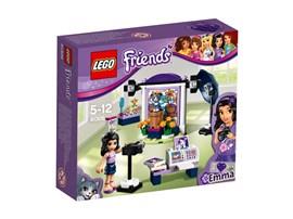 41305 LEGO® Friends Emmas Fotostudio:   Hilf Emma, eine bessere Fotografin zu werden, während ihre freche Katze Chic