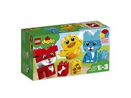 10858 LEGO® DUPLO® Meine ersten Tiere - Farben lernen:   Baue gemeinsam mit deinem Kind lustig bunte 3D-Puzzles aus großen LEGO® DUPL