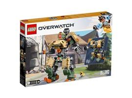 75974 - LEGO® Overwatch™ - Bastion:   Die LEGO®Overwatch®Figur Bastion (75974) kann zwischen verschiedenen Konfi