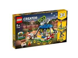 31095 - LEGO® Creator - Jahrmarktkarussell:   Erschaffe eine Welt voller zauberhafter Jahrmarktabenteuer– mit dem LEGO®C