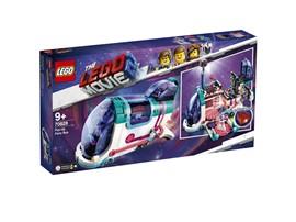 70828 The LEGO Movie™ 2 Pop-Up-Party-Bus:   Unternimm gemeinsam mit Disko Kitty, Tempo, Melody und Zebe einen Trip im to