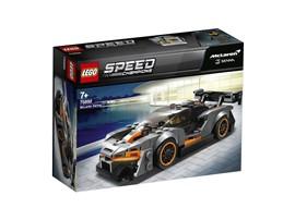 75892 LEGO® Speed Champions McLaren Senna:   Verschiebe die Grenzen des Möglichen – mit dem LEGO® SpeedChampions McLaren