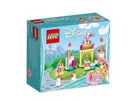 41144 LEGO® Disney Princess™ Suzettes Reitanlage:   Begib dich mit Suzette, dem Pony von Belle, auf die Reitanlage! Lass Suzette