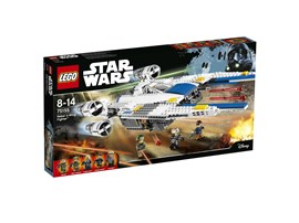 75155 LEGO® Star Wars™ Rebel U-Wing Fighter™: Öffne das Cockpit und setzt den U-Wing-Piloten hinein. Starte die Triebwerke und