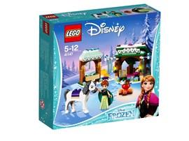 41147 LEGO® Disney Princess™ Annas eisiges Abenteuer:   Anna und ihr Pferd sind unterwegs zum Nordberg und müssen Rast machen! Führe