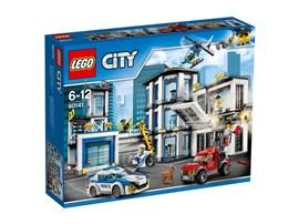 60141 LEGO® City Polizeiwache:   Schlag Alarm! Die Ganoven versuchen, ihren Komplizen aus dem Gefängnis zu be
