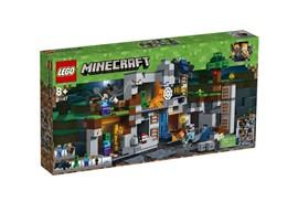 """21147 LEGO® Minecraft™ Abenteuer in den Felsen:   Steig in dem LEGO® Minecraft™-Set """"Abenteuer in den Felsen"""" (21147) die Leit"""