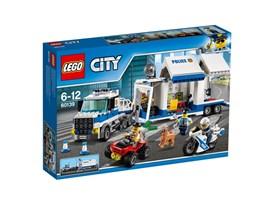 60139 LEGO® City Mobile Einsatzzentrale:   Halte den Lastwagen an und lass den Polizeihund von der Leine! Der in dem mo
