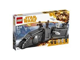 """75217 LEGO® Star Wars™ Imperial Conveyex Transport™:   Erlebe die superrasanten Schmuggler-Actionabenteuer aus dem Film """"Solo: A St"""