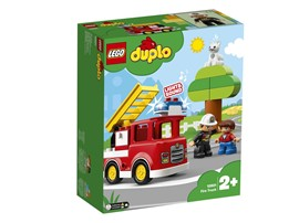 10901 LEGO® DUPLO® Feuerwehrauto:   Mit LEGO®DUPLO®Stadt – einer wiedererkennbaren Welt mit modernen LEGO DUPL