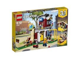 31081 LEGO® Creator Umbaubares Freizeitzentrum:   Errichte ein cooles Freizeitzentrum, wo dich tolle Aktivitäten erwarten. Set