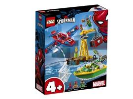 76134 - LEGO® Marvel Super Heroes™ - Spider-Man: Diamantenraub mit Doc Ock:   Kinder erleben ein fantastisches LEGO® Marvel Spider-Man Abenteuer, indem si
