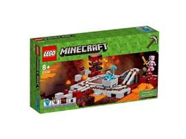 21130 LEGO® Minecraft™ Die Nether-Eisenbahn*:   Du hast ein tolles Schienensystem im gefährlichen Nether-Biom aufgebaut. Leg