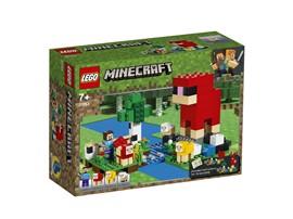 """21153 - LEGO® Minecraft™ - Die Schaffarm:   Mit dem LEGO® Minecraft Spielset """"Die Schaffarm"""" (21153) können Kinder echte"""