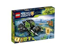 72002 LEGO® Nexo Knights Doppelinfektor*:   Mach dich auf doppeltes Unheil gefasst und hilf Aaron, den bösen Zwillingen
