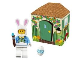 Lego® Osterhasenhütte:   Geht auf Ostereier Suche und findet heraus wo der LEGO Osterhase die bunten