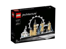 21034 LEGO® Architecture London:   Dieses prächtige Model, das die legendären Bauwerke von London – die Nationa