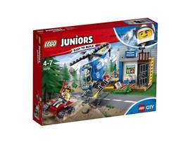10751 LEGO® Juniors Gebirgspolizei auf Verfolgungsjagd:   Schlag Alarm! Ein Dieb ist in den Tresor eingebrochen und hat alles Bargeld