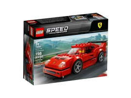 75890 LEGO® Speed Champions Ferrari F40 Competizione:   Mach dich bereit für spannende Rennaction mit dem LEGO®SpeedChampions Set