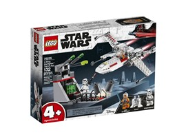 75235 LEGO® Star Wars™ X-Wing Starfighter™ Trench Run:   Rase mit Luke Skywalkers X-Wing Starfighter in actionreiche Abenteuer! Aber