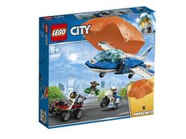 60208 LEGO® City Polizei Flucht mit Fallschirm:   Schwinge dich in deine Uniform und erlebe mit der LEGO®City Polizei spannen