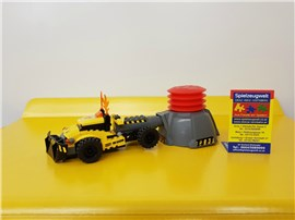 """Racer 7968:   Fertiges Lego Modell von LEGO®    """"Racer gelb 7968""""    Modell 38"""