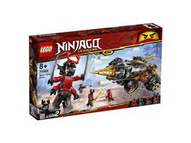 "70669 LEGO® NINJAGO Coles Powerbohrer:   Nimm es mit der Steinarmee auf – mit dem LEGO®NINJAGO® Set ""Coles Powerbohr"
