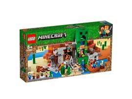 21155 - LEGO® Minecraft™ - Die Creeper™ Mine:   Komm in den Genuss actiongeladener Minecraft™-Abenteuer – mit dem LEGO® Mine