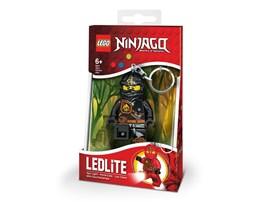 37105503 LEGO® Taschenlampe LEGO NINJAGO Cole Minitaschenlampe:   Schlüsselanhänger THE LEGO Ninjago Cole mit LED-Licht. In der erfolgreichen