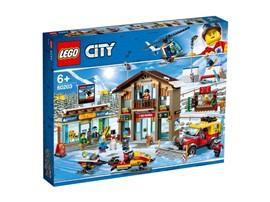 60203 - LEGO® City - Ski Resort:   Mit diesem vielfältigen Winterset erwartet alle kleinen Sportler ein aufrege