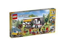 31052 LEGO® Creator Urlaubsreisen:   Mit diesem tollen LEGO® Creator Set begibst du dich auf abenteuerliche Urlau
