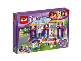41312 LEGO® Friends Heartlake Sportzentrum:   Mach mit bei Mias Training am Sandsack, an den Ringen und auf dem Laufband.