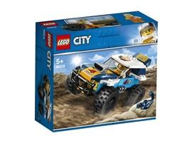 60218 LEGO® City Wüsten-Rennwagen:   Auf die Plätze, fertig, LOS! Setze deinen Helm auf und rase mit diesem leich