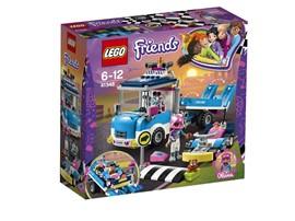 41348 LEGO® Friends Abschleppwagen:   Olivia ist immer bereit, ihren Freundinnen beim Rennen mit dem LEGO® Friends