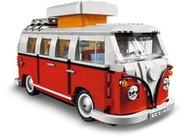 10220 LEGO® Exclusiv Creator Expert Volkswagen T1 Campingbus:   Reisen Sie zurück ins Jahr 1962 und erleben Sie eine Fahrt mit nostalgischem