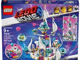 """70838 - The LEGO Movie™ 2 - Königin Wasimma Si Willis """"gar nicht böser"""" Space-Tempel:   Beim Bauen von Königin Wasimma Si-Willis """"gar nicht bösem"""" Space-Tempel (708"""