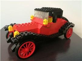 Cadillac:   Fertiges Lego Modell Cadillac               Modell aus dem Jah
