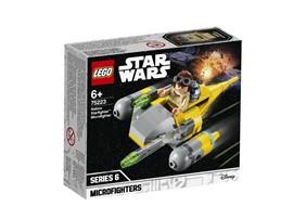 75223 LEGO® Star Wars™ Naboo Starfighter™ Microfighter:   Hebe mit dem jungen AnakinSkywalker in seinem Naboo Starfighter Microfighte